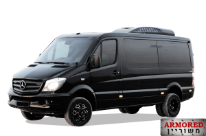 Armored Mercedes-Benz Sprinter 4WD Heavy-Duty